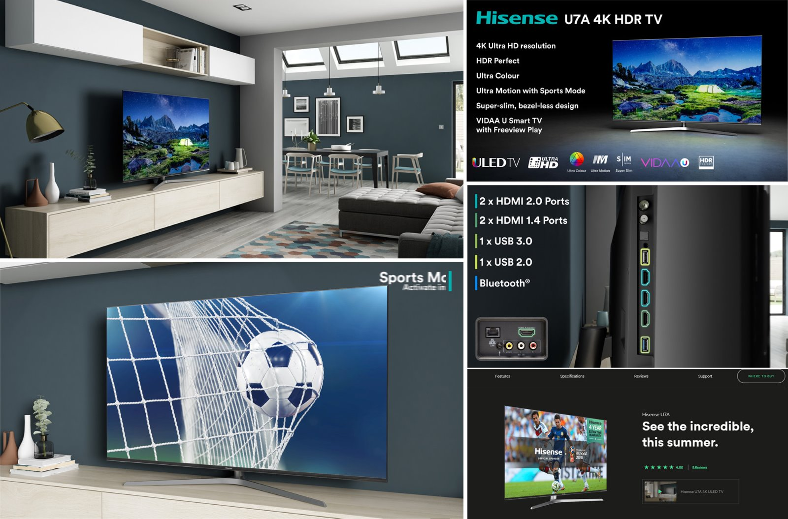 Hisense world cup video CGI advertising